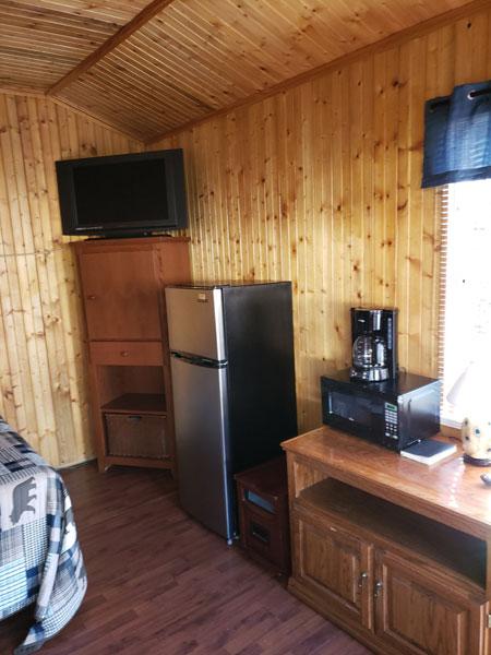 Alpine Hideaway Campground - Cabin 5 Appliances